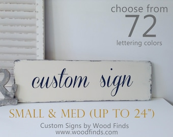 Custom wood signs, Custom Signs, Wood Sign, Custom Wood Sign, Personalized Wedding Gift, Wood Wall Art, Wooden Sign, Last Name Sign, Medium