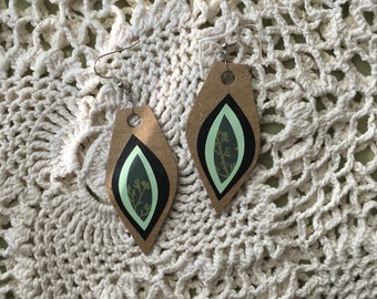 vulva earrings