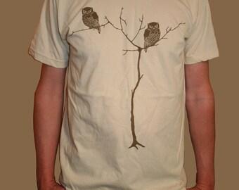 Men Creme Tree Owls
