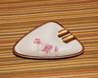 Alka Kunst floral design ashtray