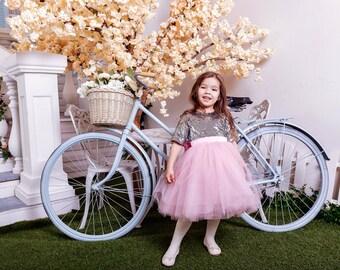 Tulle Flower Girl Dress, Satin Flower Girl Dress, Flower Girl Dresses, Flower Girl Dress, Flower Girl Dress Tulle, Baby Dress, Girls Dress