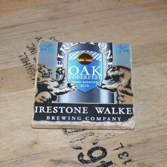 UPcycled Coaster - Firestone Walker - OAKtober Fest