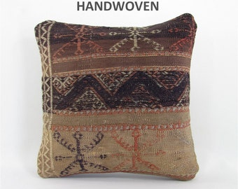 kilim pillow home decor rug pillow vintage throw pillow cover decorative pillow mothers day gift for mom housewarming gift for women 804