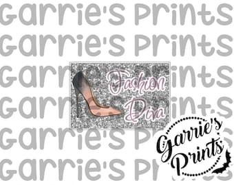 Printable   Quote Card   Fashion Diva