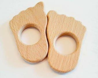 Kids Toy made of wood/deer/bear/CupCake/Unicorn/squirrel/foot