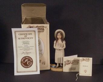 Jan Hagara Figurine Michelle #6094 Vintage 1984 - 1985 Original Box
