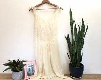 1950s Vintage Clarity Nightgown - 50s Lingerie