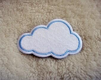 Cloud DIY Applique Iron on Patch