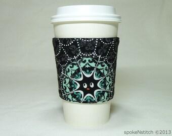 Coffee Sleeve Spiderweb Cup Cozy