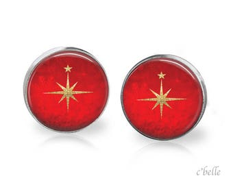 Christmas Earrings Winter-8
