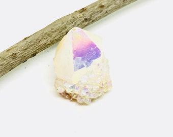 Spirit angel aura quartz. Length- 1.5 inch. Natural and genuine.