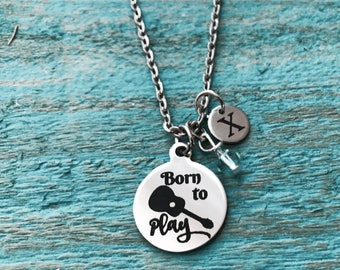 Born to play, MUSIC GIFT, Silver Necklace, acoustic guitar, guitar Necklace, Country music, guitarist Jewelry, church Band, Charm Necklace