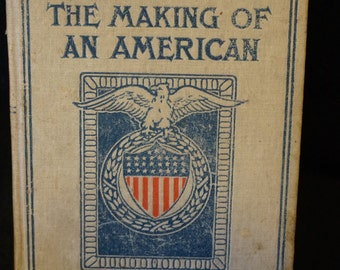 Vintage The Making of an American by Jacob A. Riis  1901