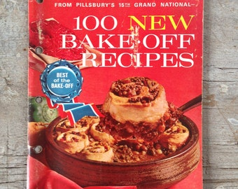 best of the bake-off recipes, copyright 1964