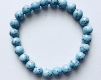 Light Blue Turquoise Bracelet