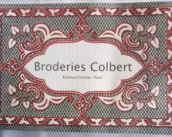 new book embroidery COLBERT published by the new