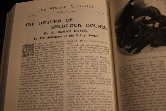 Items Similar To The Original Illustrated Sherlock Holmes Castle Books On Etsy