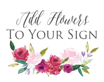 Add Flowers To Your Design