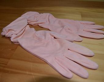 Vintage Peach Ladies Gloves