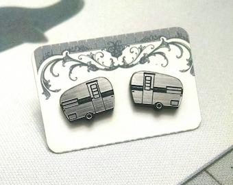 Camper Stud Earrings