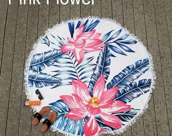 Circlular Round Beach Towels Swimming Circle