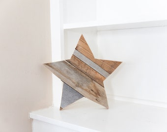 Rustic Home Decor, Farmhouse Decor, Wood Star, Wall Decor, Room Decor, Reclaimed Wood, Woodland Nursery, Kitchen Decor, Country Home Decor