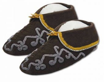 Cherokee/Southeastern Moccasin Kit  Footwear Native American DIY