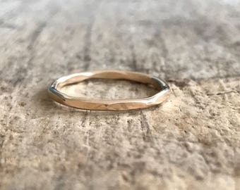 Faceted Ring, 14K YELLOW Gold Fill Ring, Marquis Ring, Gold Ring, Diamond Ring, Marquise Jewelry, Diamond Shape, Bohemian Jewelry