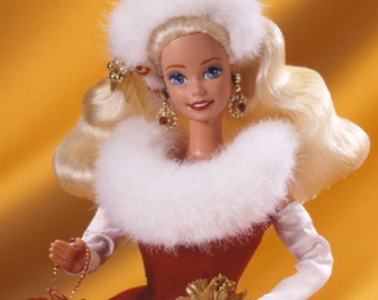 Barbie Peppermint Princess  Collectable Barbie NIB 1995- W REDUCED SHIPPING