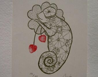Camaleon enamorado/ Chameleon in love