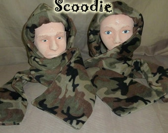 Camo Scoodie