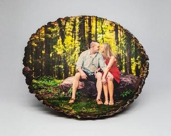 Picture on Wood, Custom Photo on Wood, Distressed Portraits, Reclaimed Wood Photo Transfer, Wood Photo Blocks, Rustic Portraits