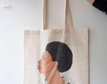 I miss NINA SIMONE tote bag