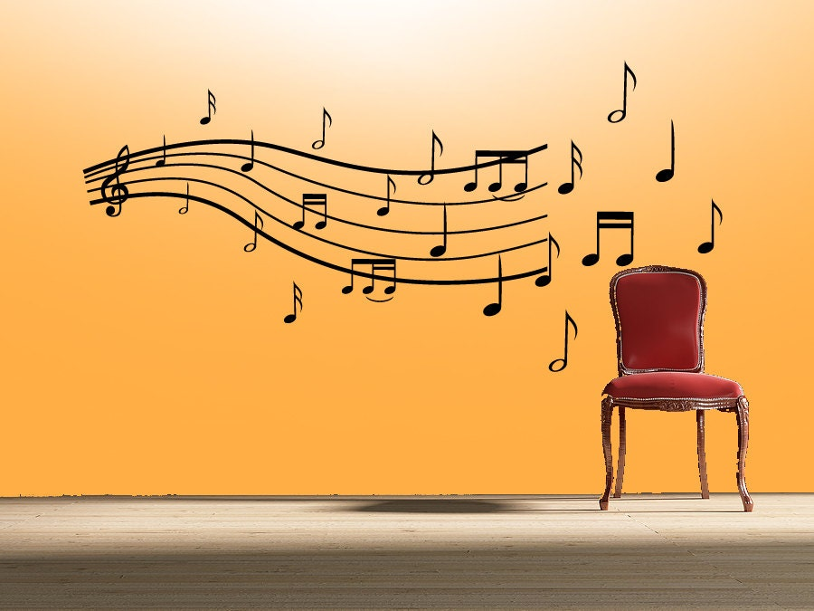 Music Wall Sticker Gallery - home design wall stickers