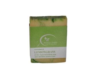 Lemongrass Hand & Body Soap-For All skin Types
