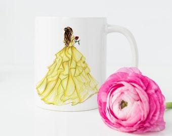 The princess and the rose  (MUG)