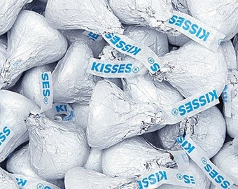 Hersheys Kisses Chocolate Candy - White - 4LB 2.7OZ Bag