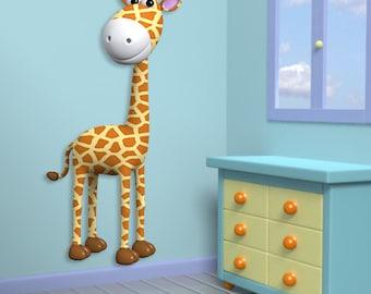 Wall decals girafe A355 - Stickers girafe A355