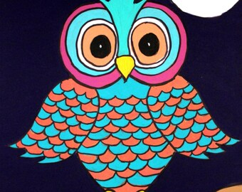 Fanciful Owl Original Painting