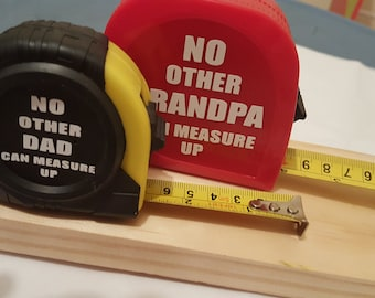 Father's Day Gift, Personalized Tape Measure, Gifts for dad, Gifts for Him, Custom Tools, Personalized Gifts, Gifts for Men, Father's Day