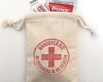 15 Hangover Kit Bags - Bachelorette Favor Bags - Survival Kit - Wedding Favor Bags - Bachelor Favor Bags - Emergency Kit - Party Bags