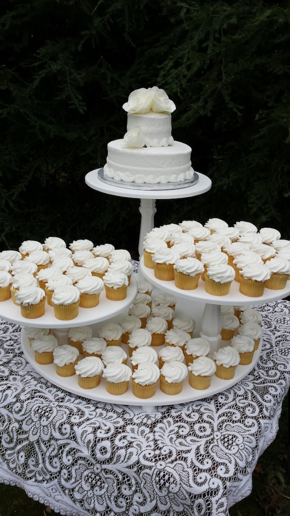 3 tier wedding cakes with cupcakes cupcake stand cake stand wedding cake stand wedding cupcake 10327