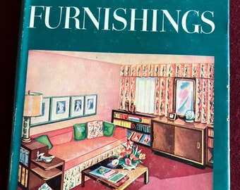 The Home and Its Furnishings by Ruth Morton/1953/463 pages/Free SH to US/Great Condition#646