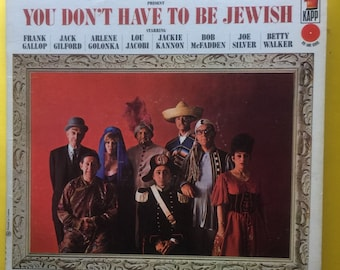 Bob Booker & George Foster You don't have to be jewish