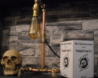 Build Your Own - Steampunk Lamp No.1