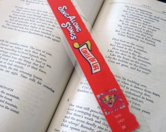 Lion King Recycled VHS Bookmark