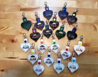 Aldi Quarter Keeper Keychain/Aldi Quarter Keeper Fob