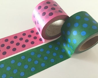 Huge Dotted Big Washi Tape 38mm x 10 meters WT881
