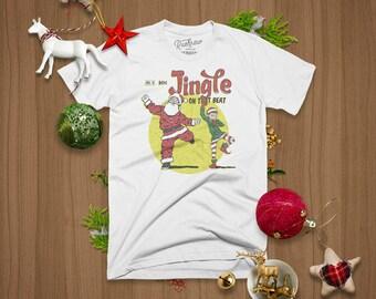 Jingle On That Beat Christmas T-shirt