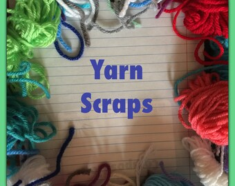 Yarn Scraps, Yarn Lot, Amigurumi Supplies Material Doll making, Kids crafts, Knitting, Weaving & tapestry